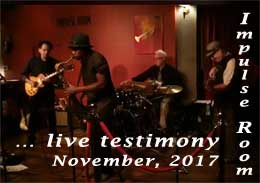 Video link to Suspects of Soul at Impluse Room, Nov. 2017